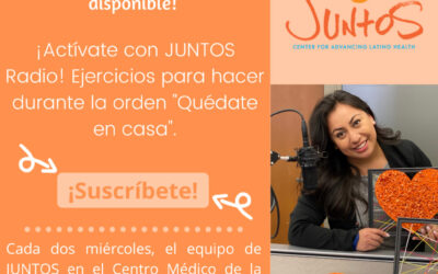 """4. Get Active with JUNTOS RADIO: Exercises to do at home during the """"Stay at Home Order"""""""