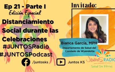JUNTOS Radio: EP 21 Edición Especial Distanciamiento Social durante las celebraciones de fin de año Parte I