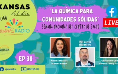 JUNTOS Radio: EP 38 La química para comunidades sólidas
