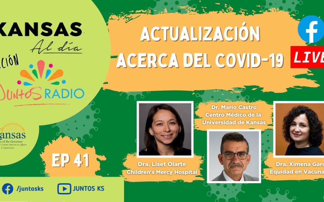 JUNTOS Radio: EP 41 Actualización acerca del COVID-19